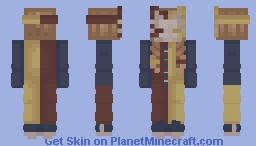 Clown Kitsune Minecraft Skin