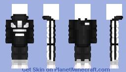 Adidas jacket - Template Minecraft Skin