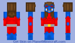 Atomica - DC - Crime Syndicate Minecraft Skin