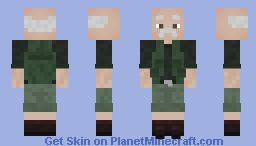 old fisherman Minecraft Skin