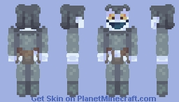 + Ryuk - SKINTOBER + Minecraft Skin