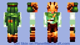 .;* one with the bees, one in the trees *;. Minecraft Skin