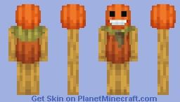Pottsfield Pumpkin - Over The Garden Wall Minecraft Skin