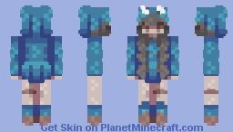 + Cookie Monster - SKINTOBER + Minecraft Skin