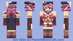 Houshou Marine 宝鐘マリン Minecraft Skin