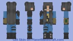 Sole Survivor - Female Minecraft Skin