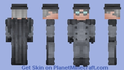 The Gray Ghost - DCAU || Justice Craft Skin Minecraft Skin