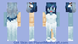 Emily - The Corpse Bride Minecraft Skin