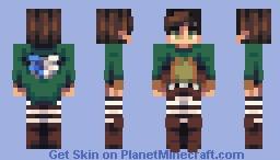 Eren Jaeger Minecraft Skin