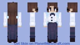 Sit up Straight Minecraft Skin