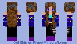 my Bff's Halloween skin Minecraft Skin