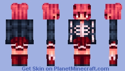 my halloween skin Minecraft Skin