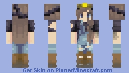 Subterranean Minecraft Skin