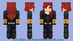 Black Widow - Natasha Romanova Minecraft Skin