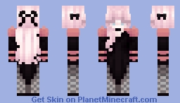 smoke and mirrors ♡ costume party ♡ Minecraft Skin