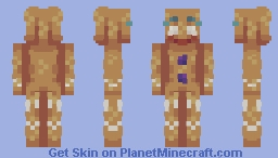 + Gingerbread Man - SKINTOBER + Minecraft Skin