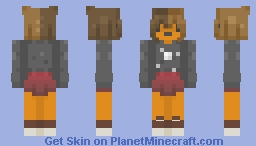 face paint // spooktober ce Minecraft Skin