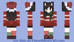 X-mas Foxy Minecraft Skin