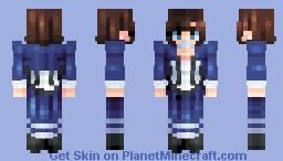 𝔼𝕝𝕚𝕫𝕒𝕓𝕖𝕥𝕙 𝔹𝕠𝕠𝕜𝕖𝕣 Minecraft Skin