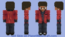 The Weeknd - After Hours Minecraft Skin
