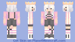 bubble gum // + masc vers Minecraft Skin