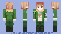 as flat as Earth~ Minecraft Skin