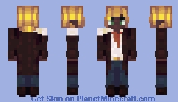golden mop of hair Minecraft Skin