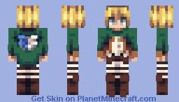 Armin Arlert Minecraft Skin