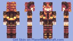 Halloween Demon '' RCE Minecraft Skin