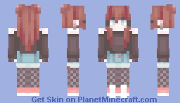 ( pastel pink and butterscotch ) Minecraft Skin