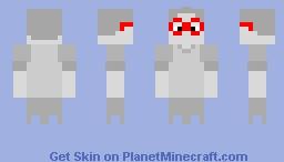 *Raises Spook Level* Minecraft Skin