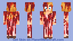 Carrie White - Carrie Minecraft Skin