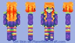 + Witch - SKINTOBER + Minecraft Skin