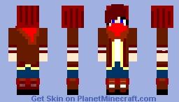 Hester Shaw ~ Mortal engines 2018 Minecraft Skin