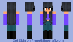 aphmau done in my own style Minecraft Skin