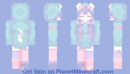 sleepy kitten 💤 Minecraft Skin