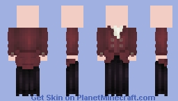 [LOTC] A Dress for the Empress Minecraft Skin