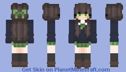 нифиговая чикса для чпоканья) Minecraft Skin