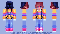 .;* hello LGBTQ community *;. Minecraft Skin