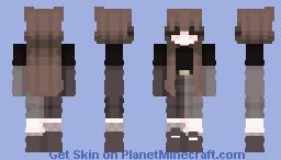 Should try Monotone Minecraft Skin