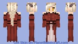 Triss Aduro - Dress - No eyepatch Minecraft Skin