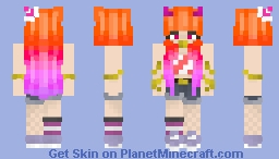 Velvet Firework Party Night Minecraft Skin
