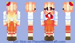 Kutaka Niwatari (( Touhou 17: Willy Beast and Weakest Creature )) Minecraft Skin