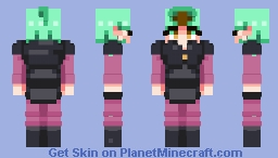 Amity Blight (The Owl House) Minecraft Skin