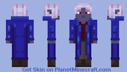 Drow/Dark Elf Wizard Minecraft Skin