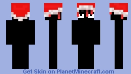 Christmas red dreads Minecraft Skin