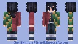 Giyu Tomioka | Demon Slayer | ~ 𝕎𝕒𝕥𝕖𝕣 ℍ𝕒𝕤𝕙𝕚𝕣𝕒 ~ Minecraft Skin