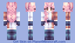 Sugar Cubes and Redemption Arcs - Remake of an overly remade OC Minecraft Skin