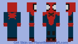 Spider-Man Miles Morales - Great Responsibility Suit Minecraft Skin