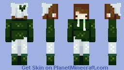 Bundled Up Minecraft Skin